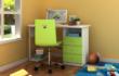 迪士尼彩色板式直角书桌