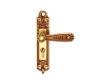雅洁AS2051-C2217-92中锁英文抛铜锁体+70英文抛铜锁胆