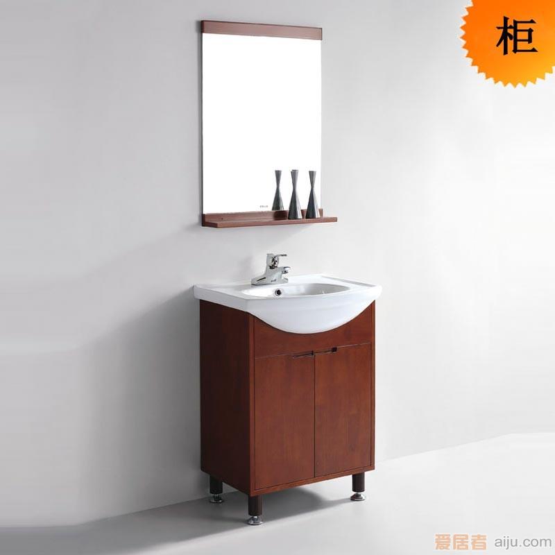 法恩莎实木浴室柜-FPGM3612主柜(560*370*815MM)1