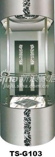 三星电梯观光电梯TS-G103