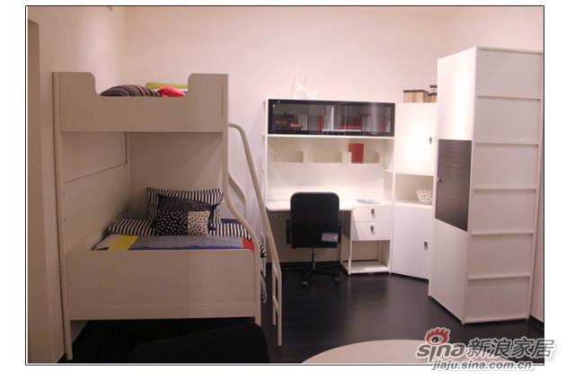 猫王家具儿童卧室双层床-2