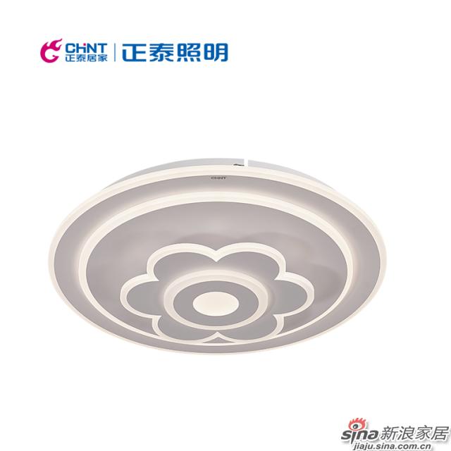 正泰照明吸顶灯 LED圆形花纹客厅餐厅灯灯具-0