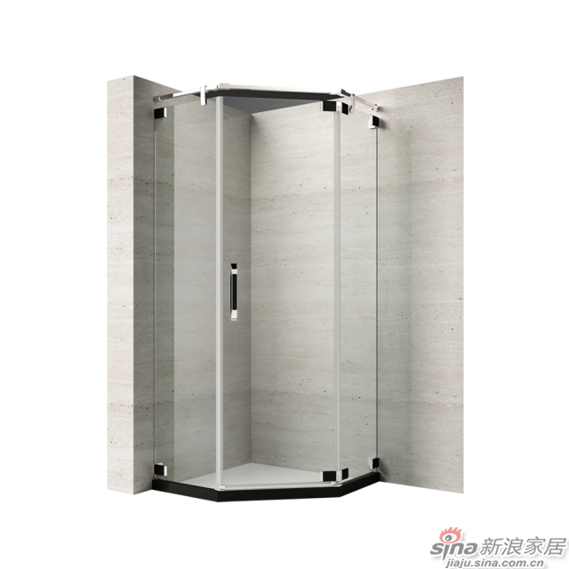 恒洁卫浴淋浴房HLG03Z31