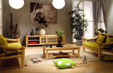 艾森木业名松屋松木系列全实木电视柜