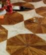 宏鹏地板艺术拼花系列―萨克斯风PH208-2