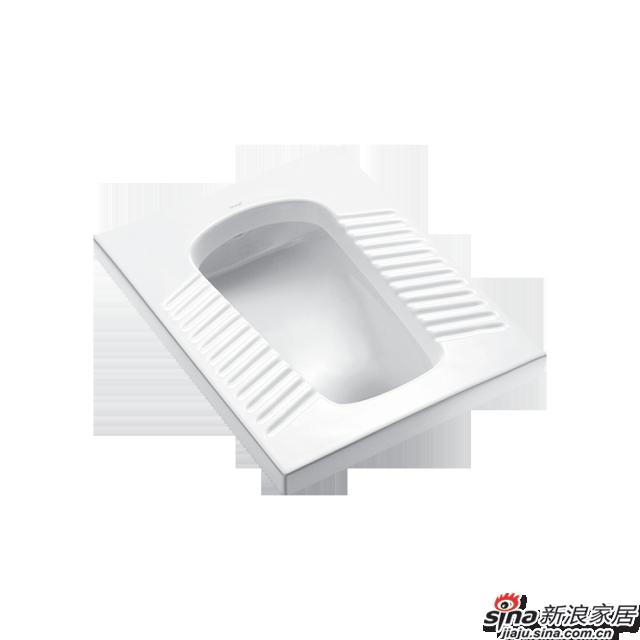 恒洁卫浴蹲便器H316
