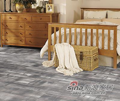 德合家ROOMS 强化地板RV807时尚白蜡木