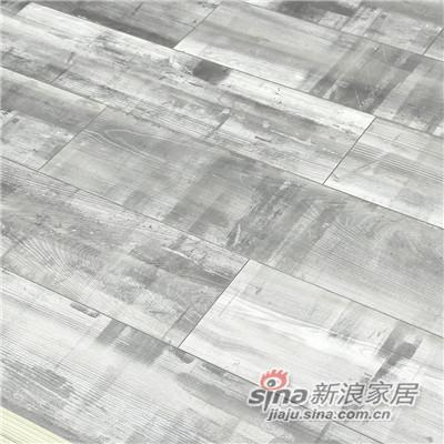 德合家ROOMS 强化地板RV807时尚白蜡木-1
