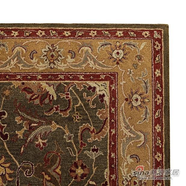 Bijar 高密羊毛手工枪刺地毯-2