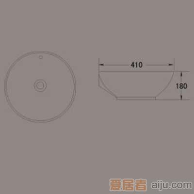 惠达艺术碗-A0042