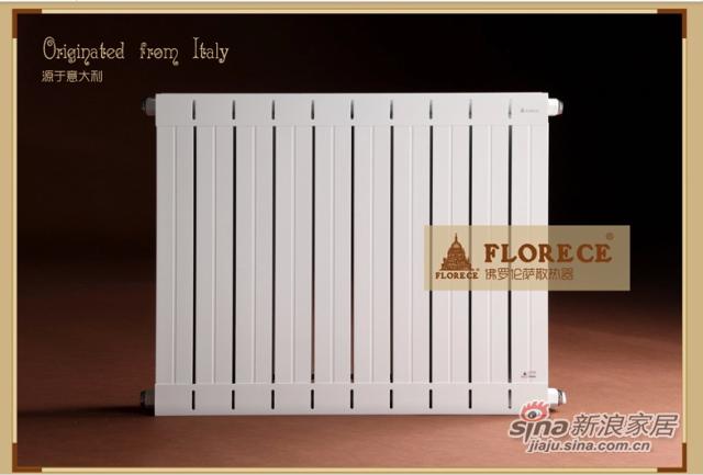 佛罗伦萨铜铝复合家用暖气片壁挂式水暖散热器暖气片