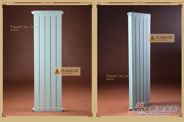 佛罗伦萨铜铝复合家用暖气片壁挂式水暖散热器暖气片-1