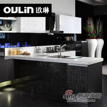 OULIN欧琳整体橱柜定做-1