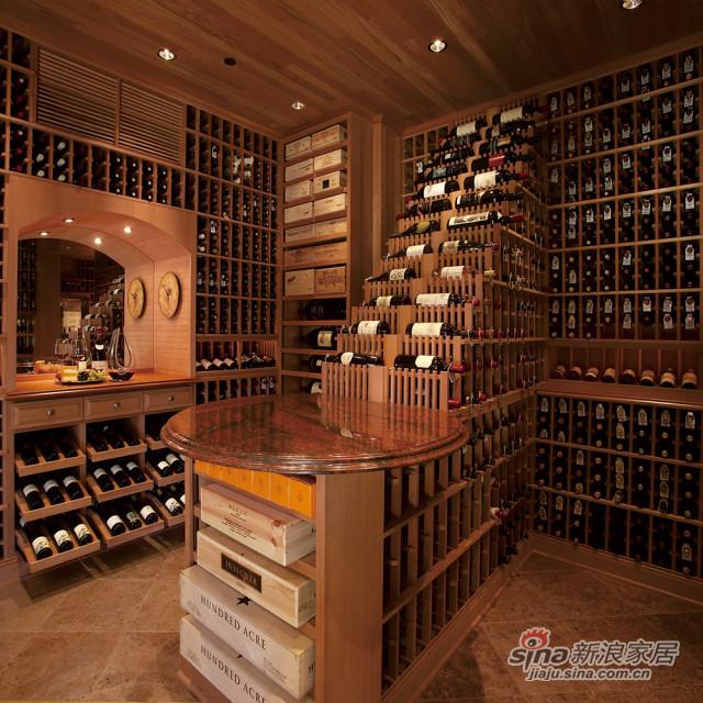 整木系列-红酒柜-1