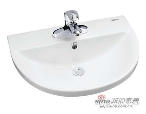 TOTO埋入式洗脸盆LW983B-0