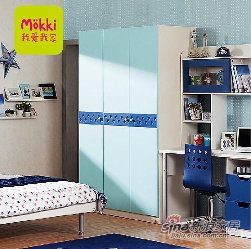 我爱我家儿童家具 简约现代卧室衣柜