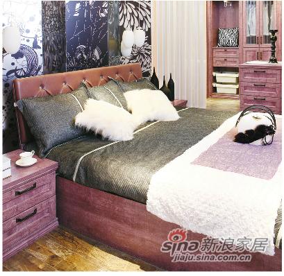 劳卡雅紫幻象E款床头柜 -0