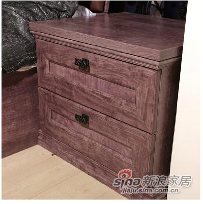 劳卡雅紫幻象E款床头柜 -2