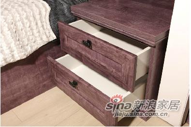 劳卡雅紫幻象E款床头柜 -3