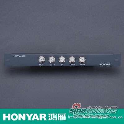 鸿雁有线电视四分配器HMTV-408-0