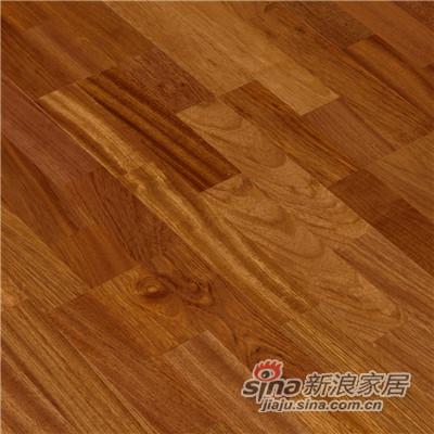 德合家BEFAG三层实木复合地板B55605三拼孪叶苏-1