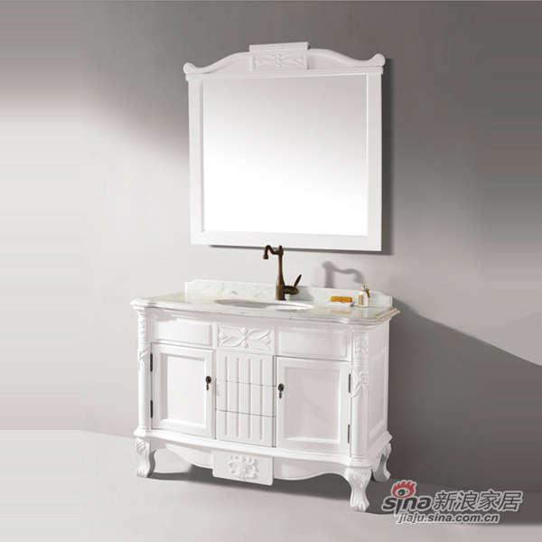泰陶浴室柜TA-Q6仿古柜-0
