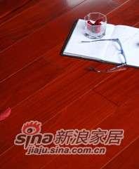 肯帝亚地板实木系列―纯实木LQ-601红檀香-0