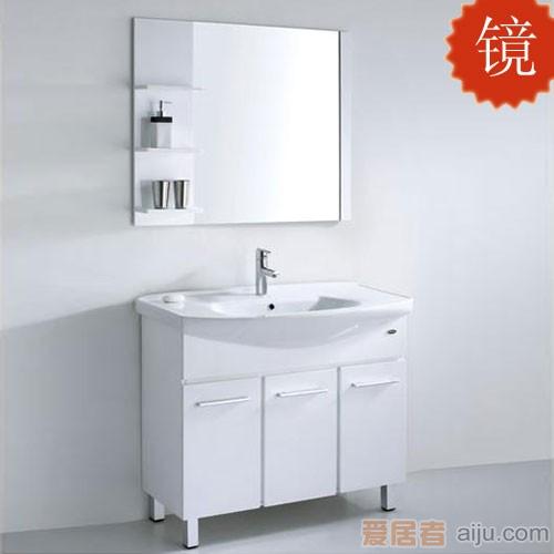 法恩莎PVC浴室柜FPG3647J镜子(980*115*800mm)1