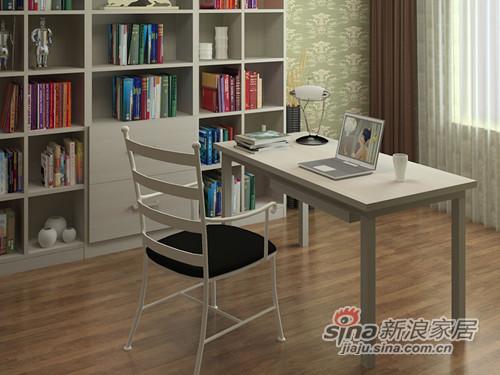 好莱客BTAB-LR简约大书桌-1