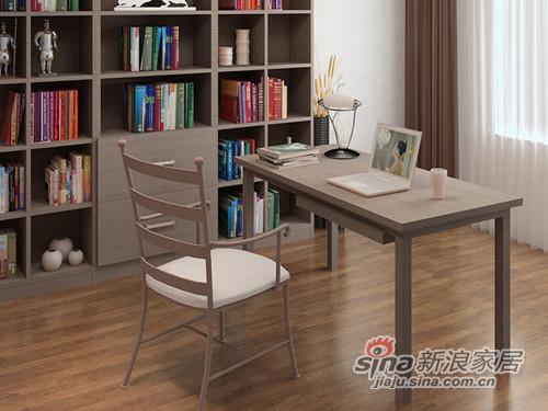 好莱客BTAB-LR简约大书桌-2