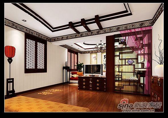 书香世家80万装复式美宅设计案例-2
