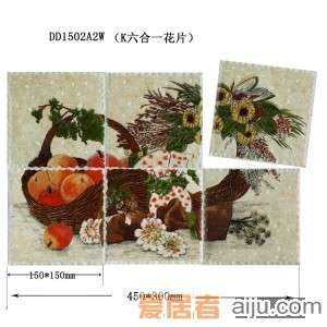 嘉俊-艺术质感瓷片[城市古堡系列]DD1502A2W-1(150*150MM)2