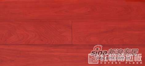 红檀�U地板檀香印象-桦木HS-PL42-0
