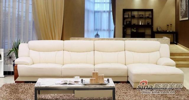 左右沙发真皮沙发