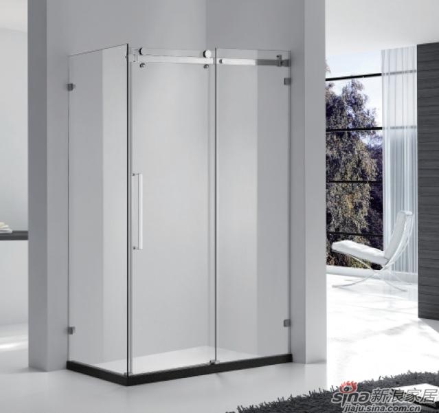 SH2-3233F方形二固一沐浴房(不锈钢)