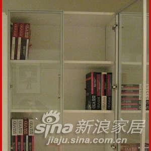欧嘉璐尼 SS105-A双门书柜-0