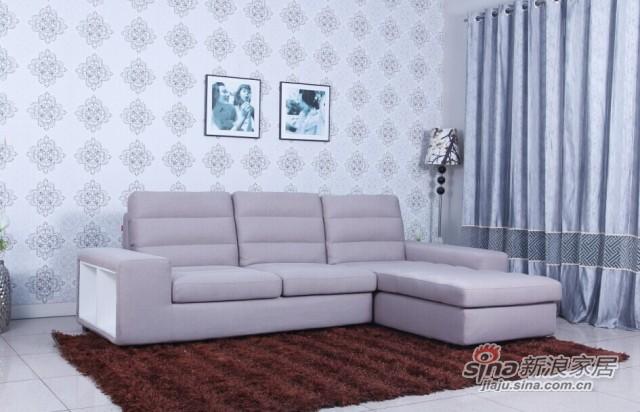 意风家具布艺沙发-1