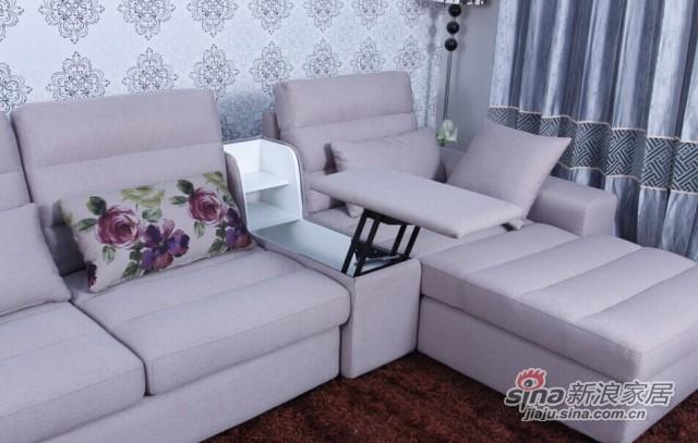 意风家具布艺沙发-2