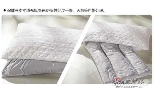 罗莱家纺 床上用品 14新品 护颈枕芯枕头-3