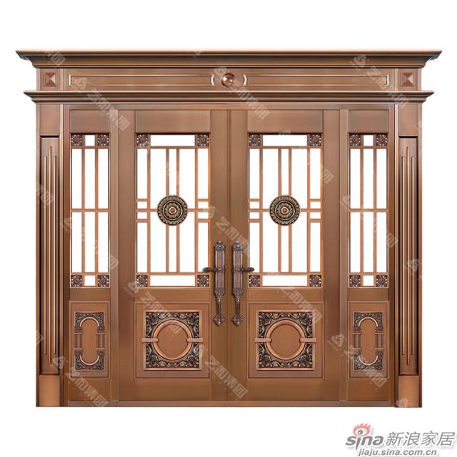铜门8405