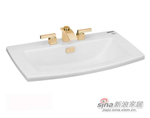 TOTO台上式洗脸盆LW311B-HG-0