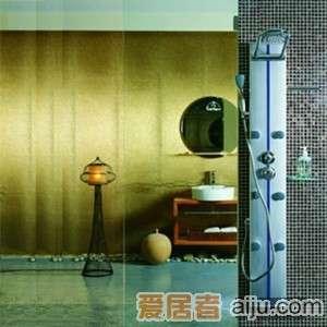 英皇纯铜镀�t淋浴柱U11