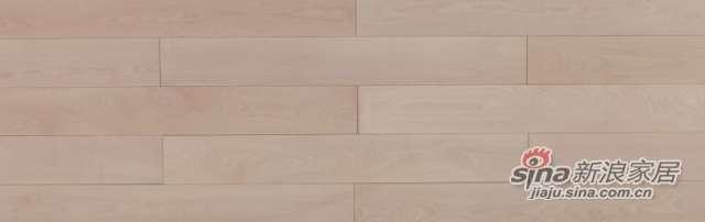 大卫地板经典实木-欧洲艺术系列S26LG01硬槭木(本色淋辊)-0