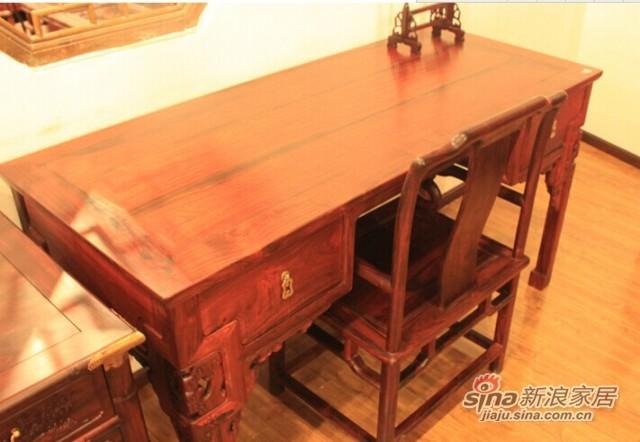 元亨利F-S-0067二屉书桌-1