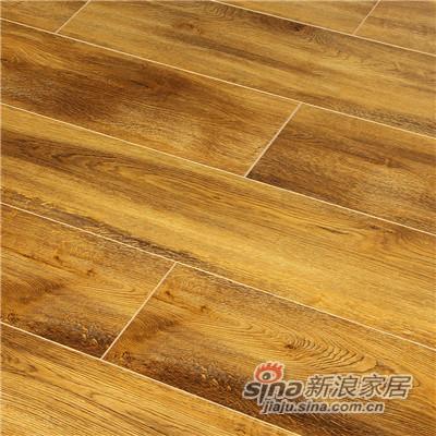 德合家ROOMS 强化地板R1011炭烧橡木-1