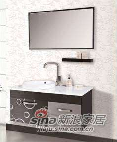 劳达斯浴室柜BC103B