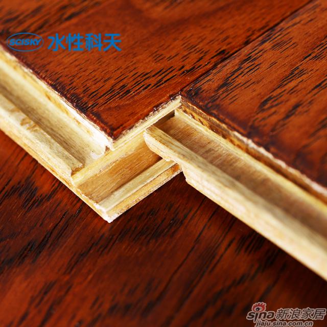 黎明拂晓山核桃实木复合地板-4