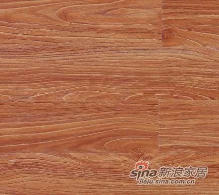 大卫地板中国红-锦绣红系列强化地板DW0036黄金海岸-0