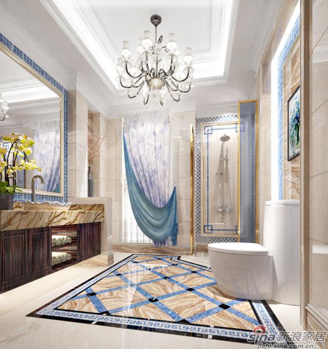 特地大理石瓷砖-景泰蓝