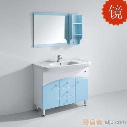 法恩莎PVC浴室柜FPG3663BJ镜子(750*650*150mm)1